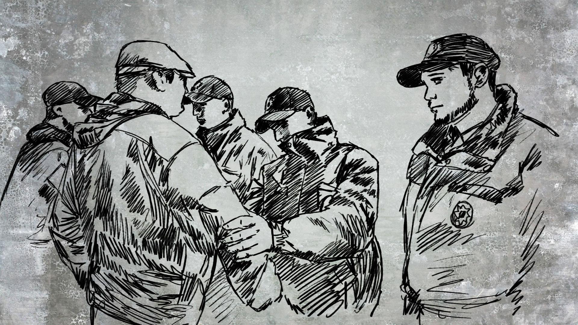 Зустріч з поліцейським на вулиці