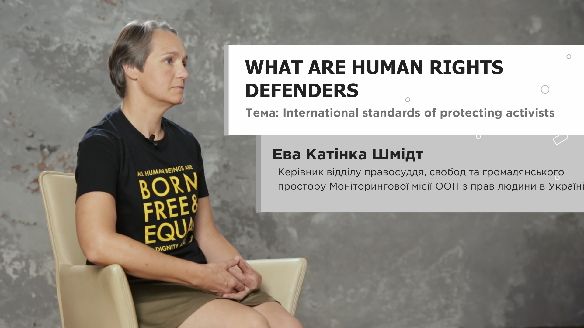 International standards of protecting activists: What are human rights defenders